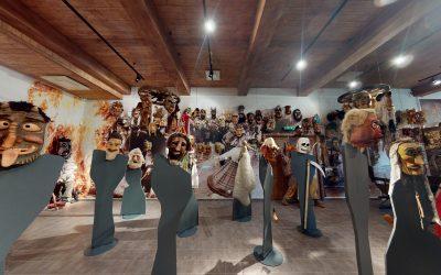 Žemaitijos nacionalinio parko Užgavėnių ekspozicijos virtualus 3D turas