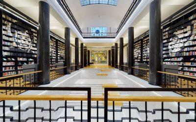 Nacionalinės Martyno Mažvydo bibliotekos virtualus 3D turas