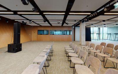 Vilniaus oro uosto konferencijų centro virtualus 3D turas