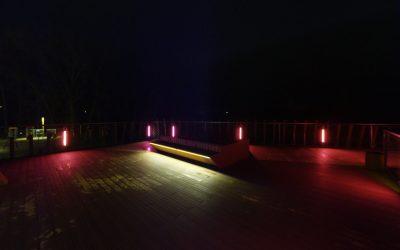 Kuršėnų pėsčiųjų tilto virtualus 3D turas