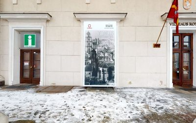 """Parodos """"Vilnius fotografijose"""" virtualus 3D turas"""